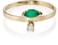 Loren Stewart Women's Evil Eye Diamond And Marquise Flank Band No Color