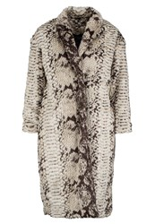 Religion Serpent Winter Coat Grey