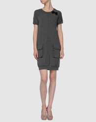Plein Sud Jeanius Short Dresses Grey
