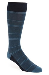 Calibrate Men's 'Fine Stripe' Socks