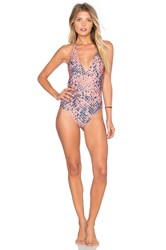 Vix Swimwear Ice One Piece Coral