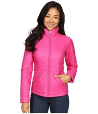 The North Face Insulated Luna Jacket Raspberry Rose Women's Coat Pink