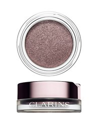 Clarins Ombre Iridescent Cream To Powder Iridescent Eye Shadow 06 Silver Plum