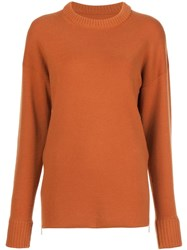 Jason Wu Side Zip Jumper Brown