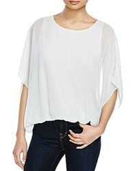 Vince Camuto Batwing Blouse 100 Bloomingdale's Exclusive Blue Glass