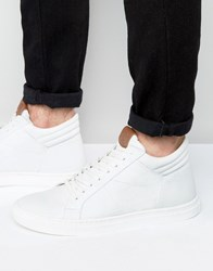 Kg By Kurt Geiger Hi Top Trainers White Black