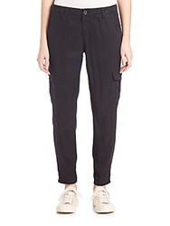 Ag Adriano Goldschmied Pepper Utility Cargo Pants Black