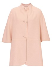 Betty Barclay Unlined Wool Cape Pink