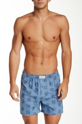 Lucky Brand Woven Boxer Red