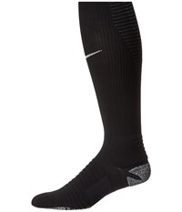 Nike Grip Strike Cushioned Otc Black Anthracite White Knee High Socks Shoes