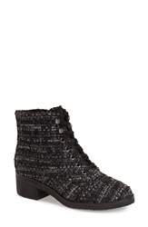 Marc Fisher 'Donell' Bootie Women Grey Black Tweed Fabric