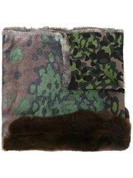 Pierre Louis Mascia 'Fancy' Scarf Green