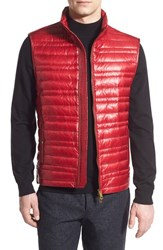 Men's Burberry Brit 'Trowby' Quilted Down Vest Parade Red