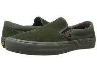 Vans Slip On Pro Camo Rosin Men's Skate Shoes Green