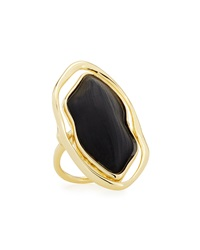 Alexis Bittar Lucite Shadow Ring Size 7