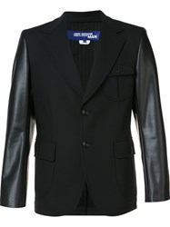 Junya Watanabe Comme Des Garcons Man Elbow Patch Blazer Black