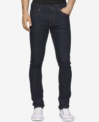 Calvin Klein Men's Slim Fit Rinse Blue Jeans
