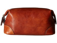 Bosca Dolce Collection Shave Kit Amber Wallet Bronze