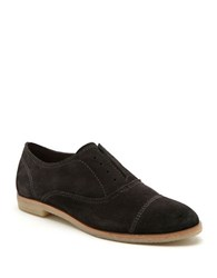 Dolce Vita Cooper Suede Oxfords Anthracite