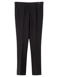 Jigsaw Bloomsbury Tailored Fit Suit Trousers Black