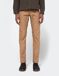 Rogue Territory Officer Trouser In Copper Selvedge Canvas