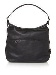 Radley Thurloe Black Large Hobo Bag Black