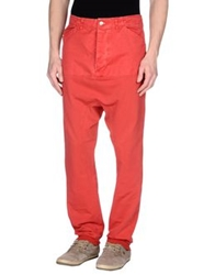 Bad Spirit Casual Pants Red