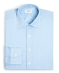 Hamilton Tattersall Classic Fit Dress Shirt 100 Bloomingdale's Exclusive