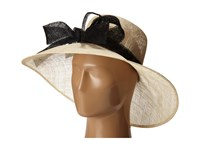 San Diego Hat Company Drs1003 Straw Wide Brim Dress Derby Hat With Oversized Bow Natural Black Dress Hats Beige