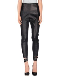 Les Chiffoniers Trousers 3 4 Length Trousers Women Black