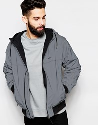 Addict Addcit Reflective Reversible Windcheater Silver