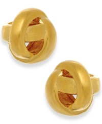 Kate Spade New York Gold Tone Knot Stud Earrings