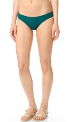 Beach Riot Korine Bikini Bottoms Forest Green