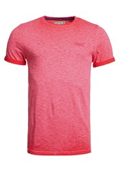 Superdry Low Roller T Shirt Pink