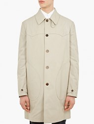 Maison Martin Margiela Natural Classic Cotton Trench Coat