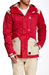 Dc Forest Snow Jacket Red