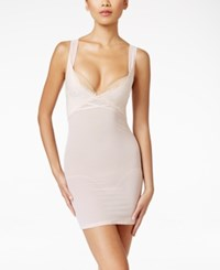 Maidenform Sexy Firm Control Lace Full Slip Dm2002 Only At Macy's Champagne Shimmer Ivory