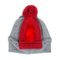 Bernstock Speirs Beanie Red Grey
