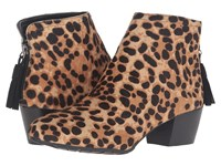 Kenneth Cole Reaction Pil Age Leopard Haircalf Women's Shoes Animal Print