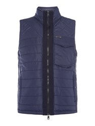 Duck And Cover Men's Whitby Gilet Navy