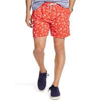 Polo Ralph Lauren Traveller Swim Shorts Native Red Wakeboard