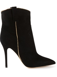 Madison Western Style Boots Black