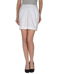 Hugo Mini Skirts White