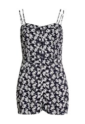 Superdry Holiday Print Playsuit Multi Coloured