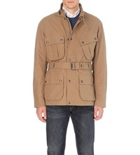 Polo Ralph Lauren Belted Canvas Jacket Military Drill