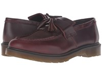 Dr. Martens Adrian Tassle Loafer Charro Brando Dark Brown Hi Suede Wp Slip On Dress Shoes