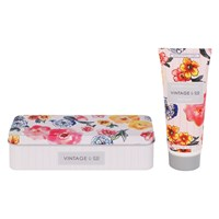 Heathcote And Ivory Vintage Patterns Petals Hand Cream In Tin 100Ml