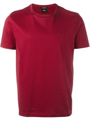 Hugo Boss 'Tiburt' T Shirt Red