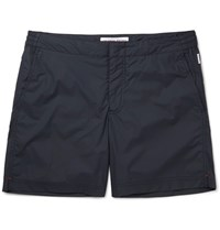 Orlebar Brown Bellamy Mid Length Swim Shorts Midnight Blue