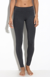 Hue 'Ultra' Wide Waistband Leggings Graphite Heather